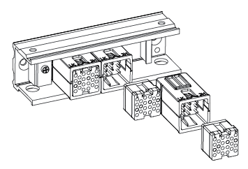 LOGIC Module Rail Mounting