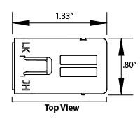 LOGIC Module top view